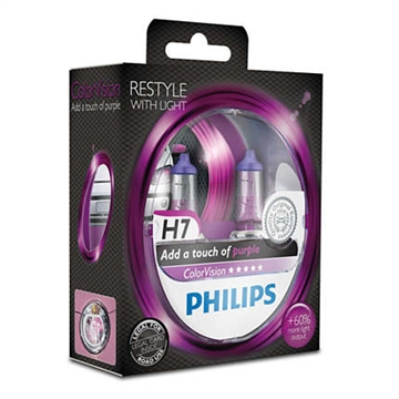 Philips ColorVision lilla