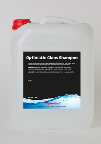 Optimatic Glansshampoo 10L